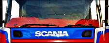SCANIA 4 in similpelle DASH Mat Red [ Truck RICAMBI E ACCESSORI ]
