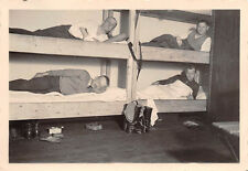 Deutsche Soldaten in den Betten Quartier Hoboken Antwerpen Belgien