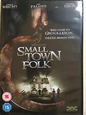 Dan Palmer Warwick Davis SMALL TOWN FOLK ~ 2007 British Cult Horror | UK DVD