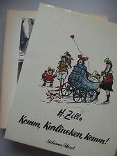 2 Bücher Komm, Karlineken, komm Heinrich Zille Photographien Berlin 1890-1910
