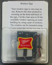 MILLER ENGINEERING MILLER HIGHLIFE ANIMATED LIGHTED WINDOW train lionel #7777