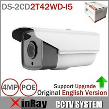 Hikvision English Version DS-2CD2T42WD-I5 IP 4MP IR 50M Bullet Network Camera