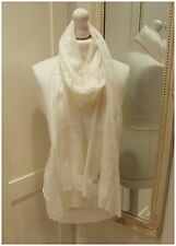 Ivory White Cashmere Wool Scarf Shawl Wrap Pashmina Ladies Mothers Day Gift NEW