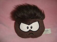 Disney Club Penguin Plush Brown grey Puffle  No Coin Jakks Pacific
