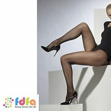 BLACK CLASSIC FISHNET TIGHTS PANTYHOSE ladies accessory womens hosiery