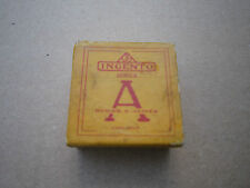 Vintage INGENTO Burke & James Series A Yellow Color Filter! In Box and Case!
