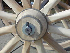 Cannon Wheels for sale. Wagon wheels. Solid hardwood wheels for many uses.