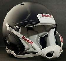 Riddell Revolution SPEED Classic Football Helmet (Color: MATTE NAVY BLUE)