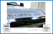 2008  -  2016 Super Duty Grille Letters Inserts Decals Realtree Camo AP hood