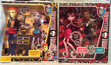 MONSTER HIGH  2 Packs - HOME ICK & MUSIC FESTIVAL (Heath/Abbey Clawd/Draculaura)