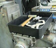 "Flat Milling Machine Tool Tray Mill Parts Holder 16.5"" L x 12"" W Fits 9"" Table"