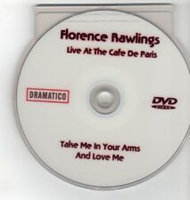 (GO451) Florence Rawlings, Take Me In Your Arms & Love Me - DJ DVD