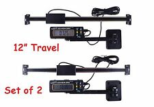 """Digital Readout DRO 2 Each Igaging 12"""" 300 mm AC Articulating Remote Display"""
