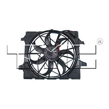 Radiator and Condenser Fan Assembly For 2011-2014 Jeep Grand Cherokee 3.6L/5.7L