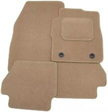 NISSAN FIGARO 1990-2000 TAILORED CAR FLOOR MATS- BEIGE WITH BEIGE TRIM