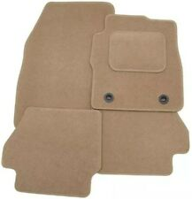 BMW X5 2000-2007 TAILORED CAR FLOOR MATS- BEIGE WITH BEIGE TRIM