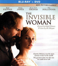 THE INVISIBLE WOMAN (Blu-ray+DVD 2013) Dickens Victorian Drama [See Description}