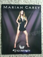 Mariah Carey #1 To Infinity VEGAS Program Tour Book Caesars Palace *BRAND NEW*