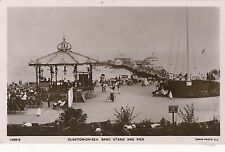 POSTCARD   ESSEX  Clacton  on  Sea   Band  Stand