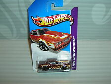 2013 HOT WHEELS  ''HW SHOWROOM'' #216 = `86 MONTE CARLO = BURGANDY   int