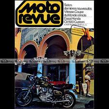 MOTO REVUE N°2431 HONDA CX 500 CUSTOM HITTINGER YAMAHA OW 31 PATRICK PONS 1979