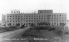Old Photo. Santa Ana, CA. Southern California Sugar Company Factory - auto