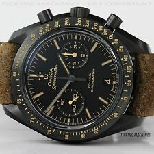 Omega Speedmaster Vintage Black Dark Side of the Moon Ceramic 9300 Co-Axial Chro