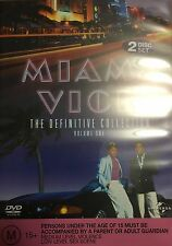 Miami Vice The Definetive Collection Volume One 2-Disc Set Region 4 DVD VGC