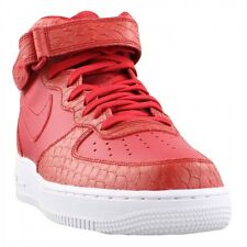 Size 8.5 Men's Nike Air Force 1 Mid '07 LV8 Red/White 804609 601 Fashion Casual