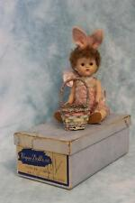 "8"" Auburn Poodle Cut painted Lash Vogue Ginny Doll in Bunny Suit & Original box"