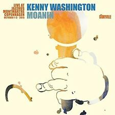 Moanin: Live At Jazzhus Montmartre - Kenny Washington (2016, CD NIEUW)