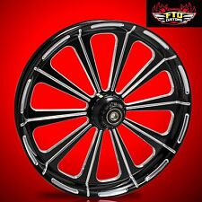 "Harley Davidson V-Rod 21"" inch Custom Front Wheel ""Redemption"""