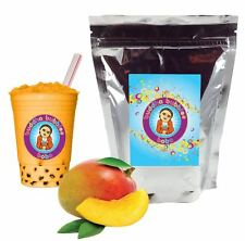 Mango Boba / Bubble Tea Powder by Buddha Bubbles Boba (1 Kilo | 2.2 Pounds)