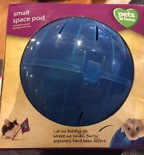 SMALL SPACE POD PETS AT HOME FOR DWARF HAMSTER / MICE EXERCISE