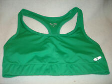 CHAMPION  SPORT BRA WORKOUT TOP GREEN  SMALL.  PRE-OWNED