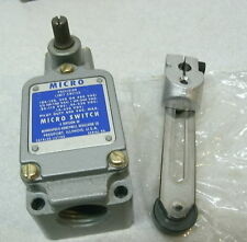 HONEYWELL MICRO SWITCH 1LS23, LIMIT SIDE ACTUATOR, SPDT, ARM LEVER ROLLER NEW