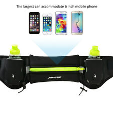 Hydration Running Belt Lightweight Runners Waist Pack with 2 Free Water Bottles