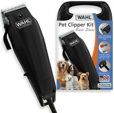 New Wahl Pet Dog Cat Horse Goat Fur Clipper Cutter Kit 10 Piece Grooming Kit