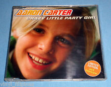 MADE IN GERMANY:AARON CARTER - Crazy Little Party Girl CD SINGLE,LIMITED EDITION