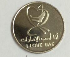 UAE,One Dirham, 1 DIRHAM  COIN 2010 YEAR I LOVE UAE    UNC
