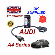 AUDI A4 Series 4F0051510M Cable para BLACKBERRY Z10 MICRO USB Audio conexión