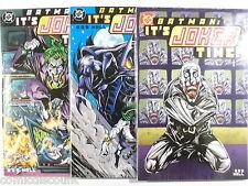 US DC Comics BATMAN : ITS JOKER TIME 1,2,3 of 3 komplett