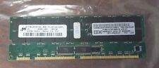 MICRON 512MB SDRAM PC100 CL2  32X4 36CHIPS 168PIN  BGA  33L3118  ECC REGISTERED