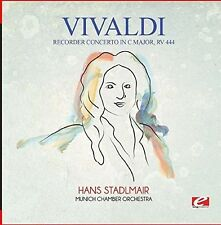 Recorder Concerto In C Major Rv 444 - Vivaldi (2015, CD NEU)