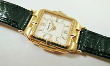 Lassale by Seiko Gold Tone Stainless 7N89-5A60 Calf Sample Watch NON-WORKING
