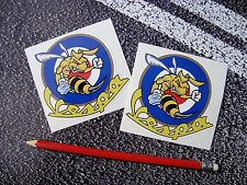 VESPA Scooter Stickers Angry Wasp Mods Italy Piaggio world days cool