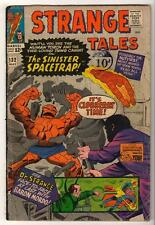 MARVEL Comics  STRANGE TALES THING HUMAN TORCH #132  1965  VGF