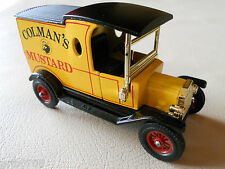 Matchbox Lesney YESTERYEAR 1912 COLMAN'S MUSTARD FORD MODEL T Y12