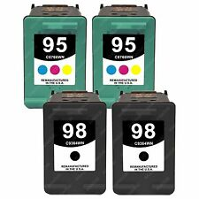 4p Ink for HP 95/98 DeskJet 5940 5940xi OfficeJet 6310 6310v 6310xi 6315 Printer
