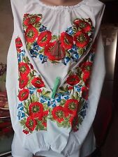 Ukrainian embroidery, embroidered blouse, S - 4XL, Ukraine